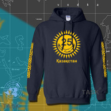 Kazakhstan hoodies men sweatshirt sweat new streetwear country fleece nations Kazakh flag Kazakhstani KAZ Qazaqstan 25 years 17