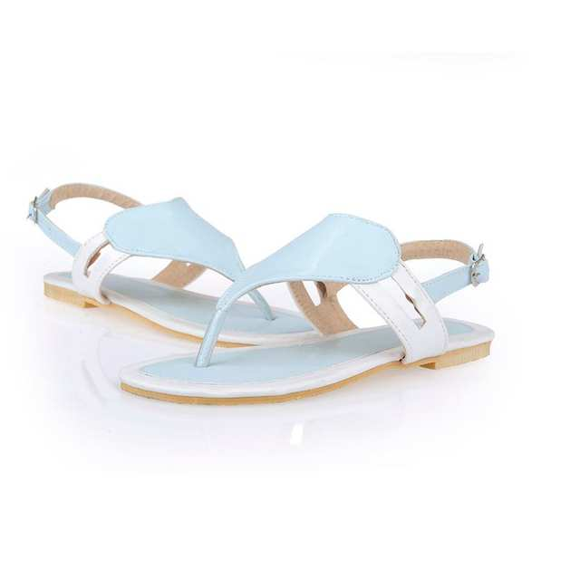 d829e6a29d99 Online Shop Size 32-47 Shoes Woman Famous Brand Flip Flops Ladies Clip Toe  Gladiator Sandals Women Branded Slippers Sandalias Shoes PA00360
