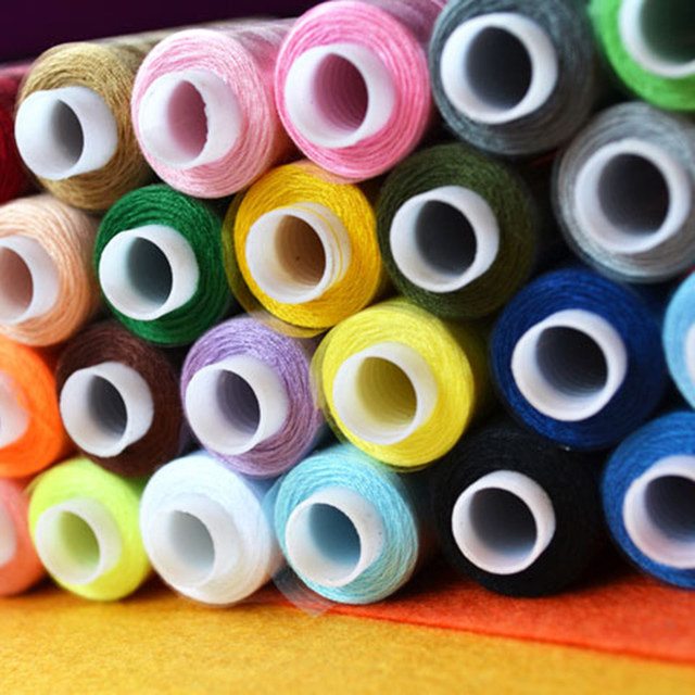 Online Shop 30 Colours 250 Yard Polyester Sewing Threads ... : quilting supplies wholesale - Adamdwight.com