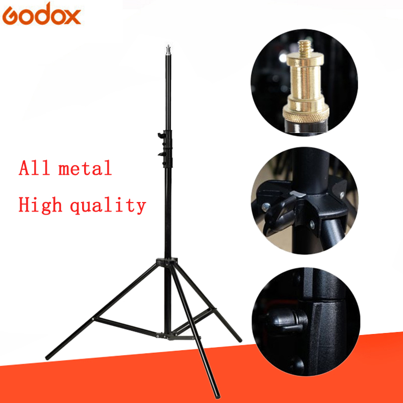 Studio Supplies 304 2m Light Stand Stand 1/4 Screw Head Tripod Stand Spring Light Stand For Flash Photography Light Softbox LED