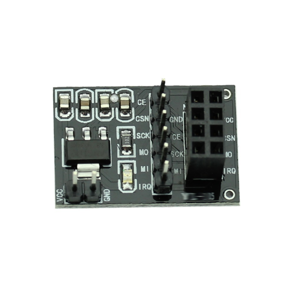 New Hot Socket Adapter Module Board for 8PIN NRF24L01 Wireless Module Electronic Modules