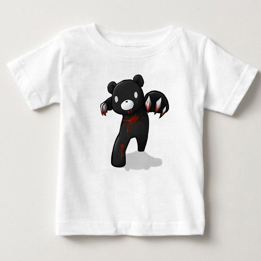 Gloomy Bear children T shirt 2018 Newest Digital print Cartoon - summer boy and girl T-shirt