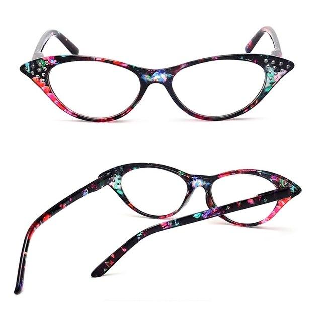 fb534af7f5 1pc New Fashion Women Cat Eye Reading Glasses Plastic Frame Eyeglass Eyewear  +1.0-+4.0