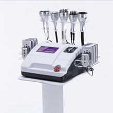 Factory price 8 Pads Diode Lipo Laser+ 40K Cavitation machine + Slimming Vacuum RF Cellulite vacuum exposure machine price tabletop
