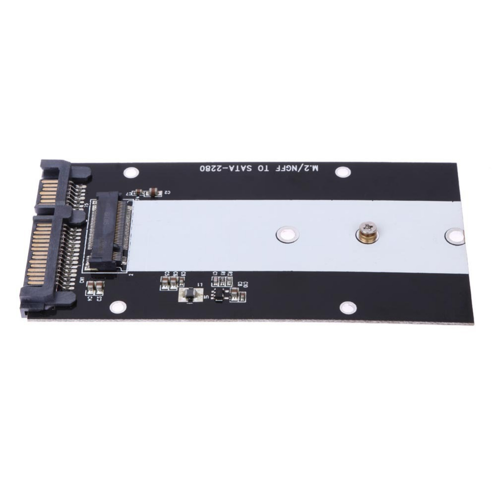 B Key M.2 NGFF To 2.5 SATAIII SATA 3.0 SSD Adapter Card 7mm Thickness 2242 2260 2280 Solid State Drive Case For PC Desktop