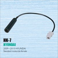 Car Radio Antenna Adapter Cable Wire For Hyundai 2009 2015 Aftermarket Stereo CD DVD GPS Installation