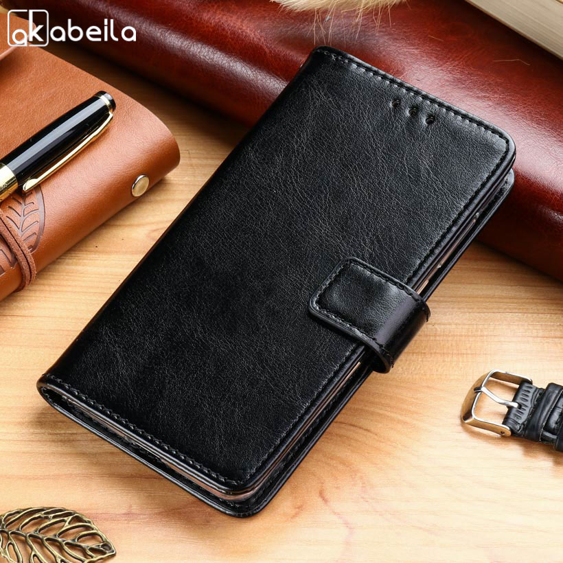 AKABEILA Cases For Blackview A7 A7 Pro 5.0 inch Leather Wallet Phone Cover Case Housing  ...
