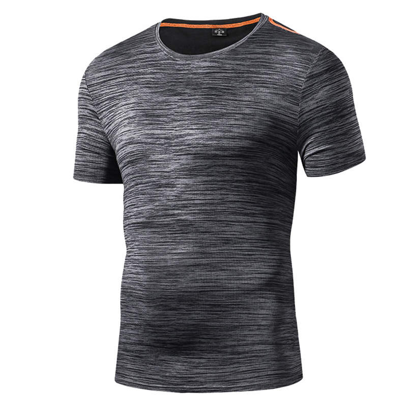 2018 Summer Mens Quick Dry Leisure Sport Camping Running T Shirt Outdoor Fishing Hiking T-shirt Men O-neck Short Sleeve T-shirts