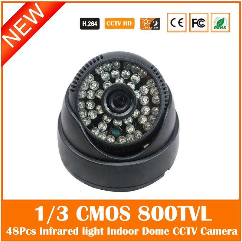 Cmos 800tvl Dome Camera Infrared Night Vision Ircut Filter Plastic Indoor Mini Cctv Webcam Surveillance Security Freeshipping cmos 800tvl bullet camera infrared light night vision cctv outdoor surveillance security plastic mini webcam freeshipping