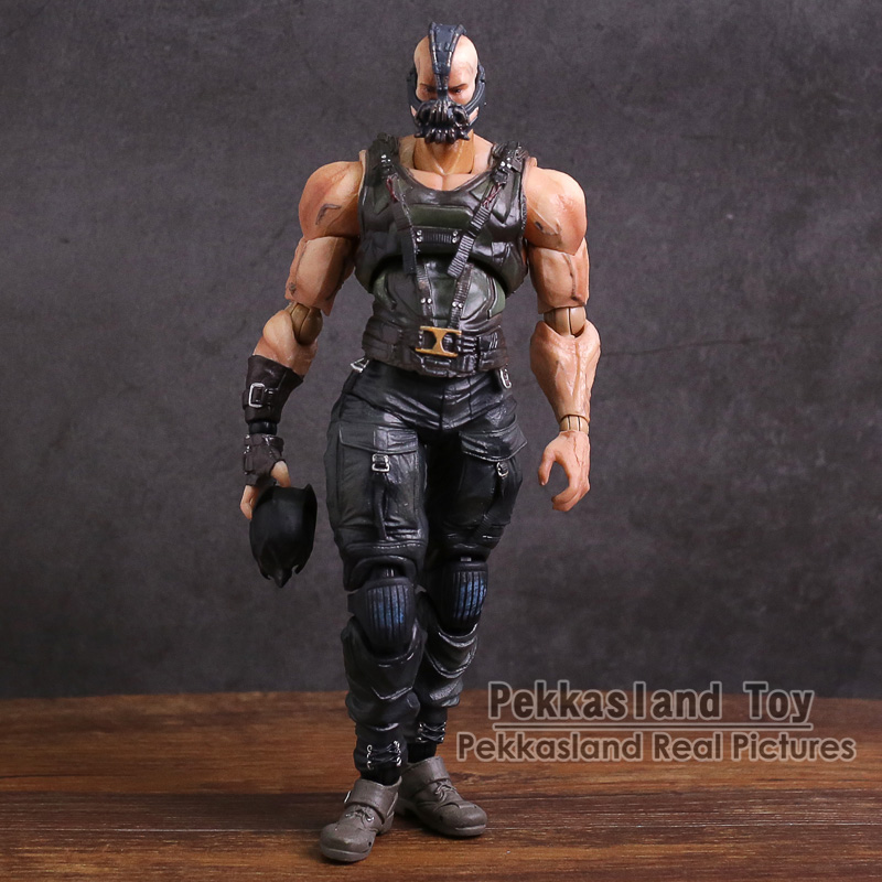 Play Arts Kai Batman The Dark Night NO.02 Bane PVC Action Figure Collectible Model Toy