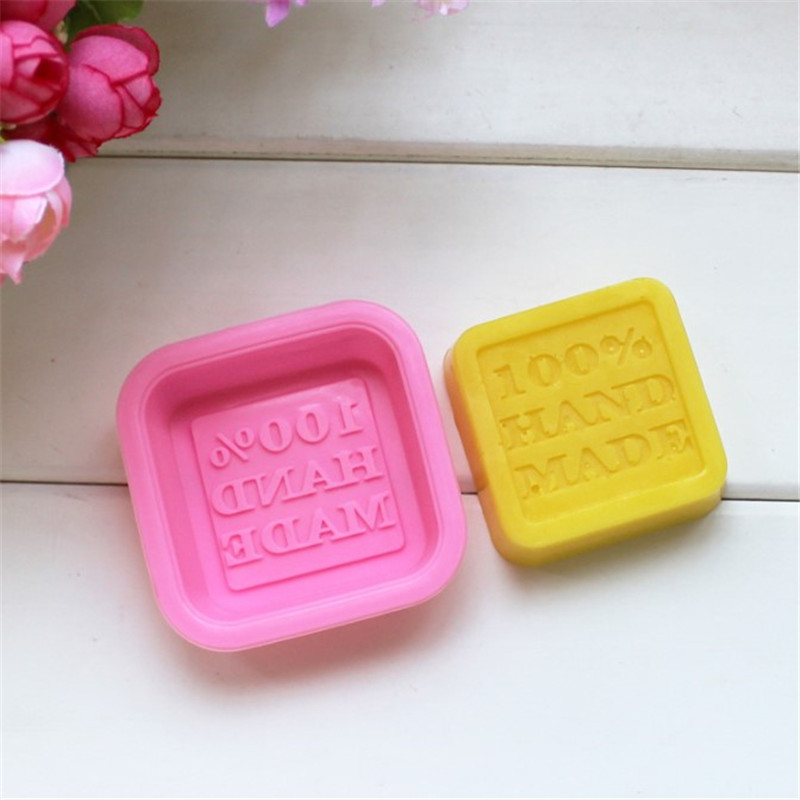 100% Hand Made DIY Silicone Mold Soap Mold Fondant Cake Decorating Tools Sugarcraft Chocolate Gumpaste Moulds