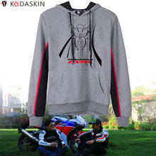 KODASKIN Vintage Hoodies Men Wears Sweatshirts Hooded Hoody for Honda CBR 190 250 300 400 600 650 1000 RR