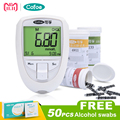 Cofoe BKM13-1 Blood Glucose & Uric Acid & Cholesterol 3 in 1 Multi Monitor with Test Strips For Elder Test in Home