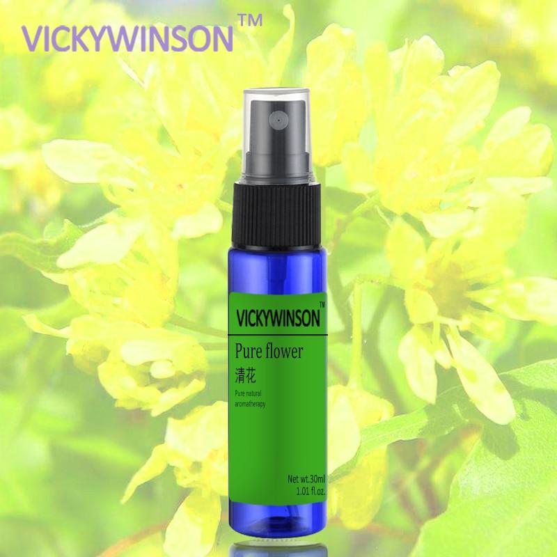 Pure Flower Fragrance Spray Body Deodorant Women Anti Sweat Antiperspirant 30ml
