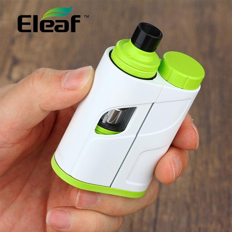 100% Originale Eleaf IKonn Totale Kit con 5.5 ml e-liquido Capacità Ello Mini XL Serbatoio 50 W IKonnTotal Mod E-cig Vape Kit No Batteria