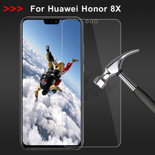 Tempered Glass For Huawei Honor 8X Screen Protector On Not Full Cover Honor8X 8 X Film