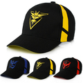 2016 New Gorras Baseball Cap Mens Casquette Bone cap Hat Team Valor Team Mystic Team Instinct Pokemon baseball Cap hat