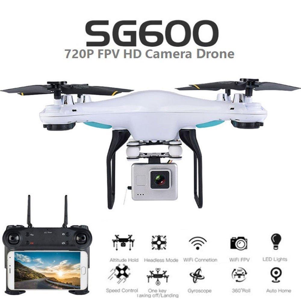 SG600 RC Drone с камерой HD 2MP 720P 2.4G 4CH Drone WIFI FPV - Радиоуправляемые игрушки
