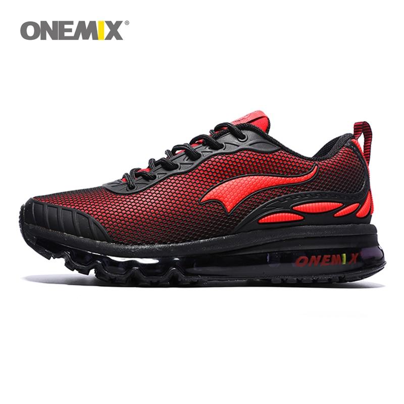 ONEMIX hombre zapatillas para correr Max Size 12 Nice Trends correr malla transpirable hombres Jogging zapato deporte para caminar al aire libre zapatillas cojín