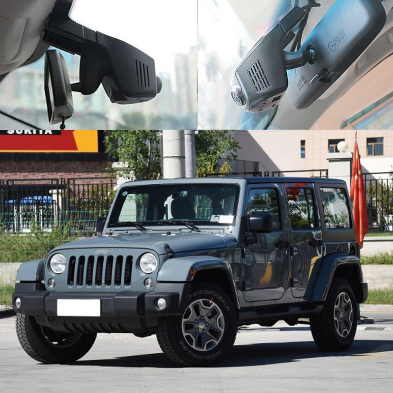 BigBigRoad For Jeep Wrangler Renegade Car Wifi DVR Video Recorder Novatek 96672 Hidden Installation Dashcam