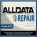 2017 Auto Repair Software Alldata 10.53 all data software in 640GB HDD fit for multi laptops