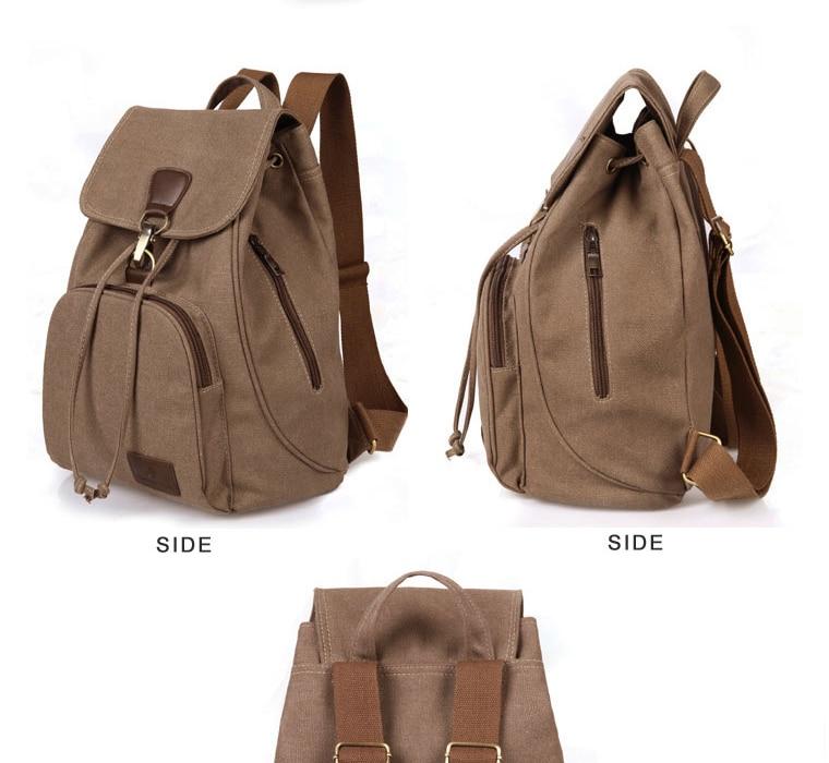 HTB1pqaeaifrK1RjSspbq6A4pFXaO Woman canvas backpacks female vintage bag fashion backpacks for teenage girls retro College student school bags fabric knapsack