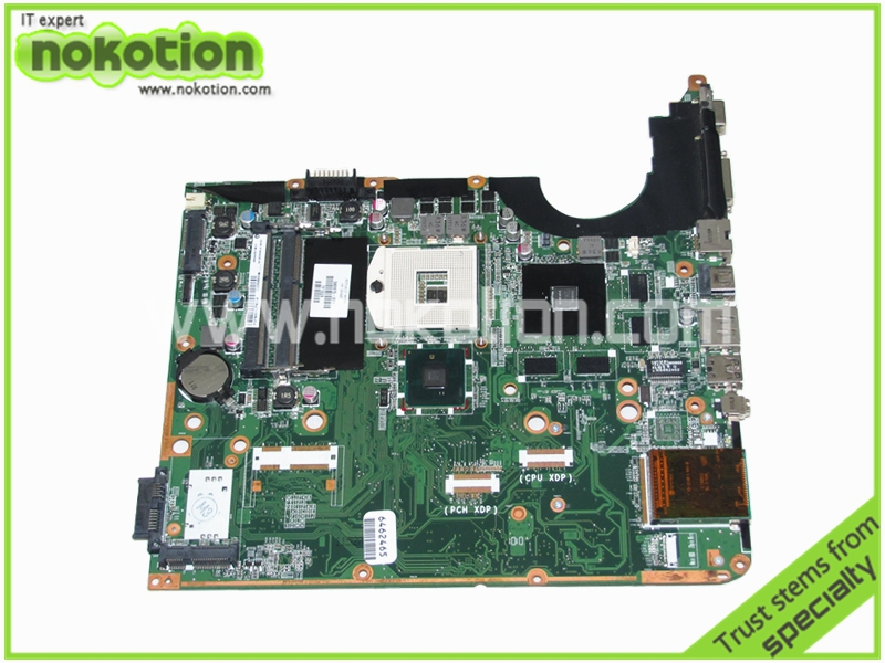 NOKOTION 580975-001 Laptop motherboard for HP Pavilion DV6 DV6-2000 DA0UP6MB6F0 REV F intel PM55 DDR3 GeForce GT230M Mainboard 511864 001 board for hp pavilion dv6 laptop motherboard with for intel chipset free shipping