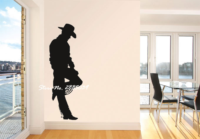 Cowboy Boy In The You Wall Art Sticker Vinyl Wall Stickers