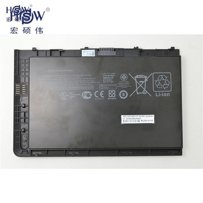 HSW 14.8V 52Wh BA04XL battery for HP EliteBook Folio 9470 9470m 687517-171 687517-241 687945-001 Ba06 Bt04 Bt04xl H4q47aa H4q48a ноутбук hp elitebook 820 g4 z2v85ea z2v85ea