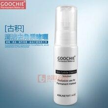 Solución de limpieza de la cutícula de la piel Maquillaje Goochie Permanente para cejas blanqueamiento Gel Exfoliante de labios rápida desinfección