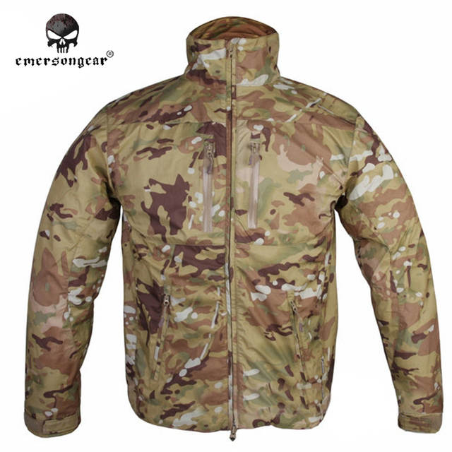 daa9156769 Online Shop Emersongear SoftShell Jacket Trench Breathable Perspiration  Emerson Outdoor Light Tactical Autumn Winter EM6810M MultiCam | Aliexpress  Mobile