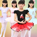 Chica ballet profesional competencia de gimnasia leotardo danza dress para el cabrito bailarina dancewear traje ropa ropa de baile
