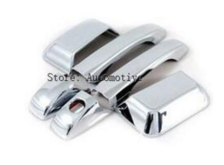Fit For <font><b>Jeep</b></font> <font><b>Compass</b></font> 2007-2016 2015 2014 <font><b>Chrome</b></font> Door Handle Cover Trim Molding Catch Overlay Garnish 08 2009 2010 2011 <font><b>2012</b></font> 2013 image