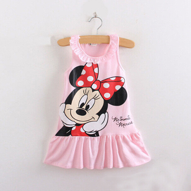 Children's girls short-sleeved dress