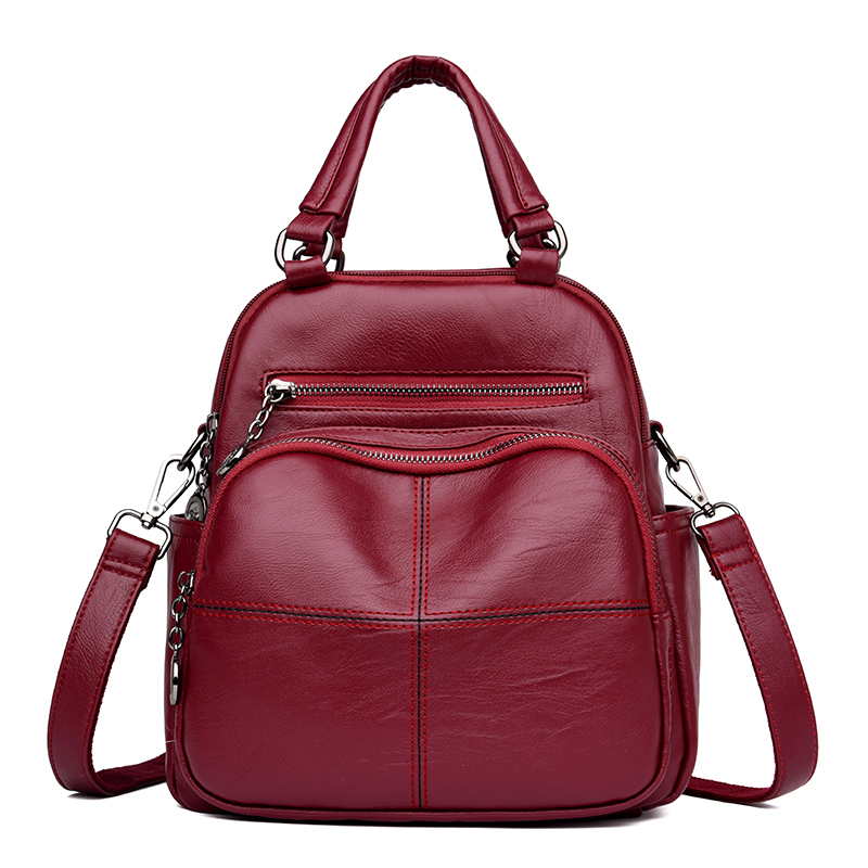 Leisure Women Backpack Large Capacity Many Pockets Backpacks Female School Bag for Girls Shoulder Bags Ladies Travel Backpack