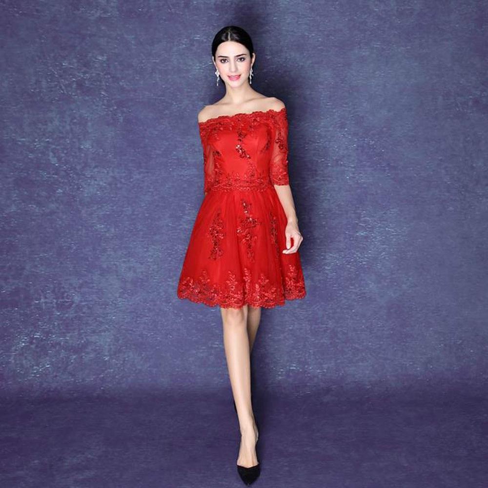 Aliexpress.com : Buy High Quality 2016 Sexy Short Red