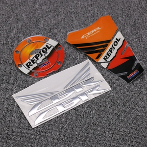 Мотоцикл 3D крышка крыла колеса эмблема значок Pad & Repsol крышка бака Наклейка для Honda CBR1000RR CBR600RR CBR250R