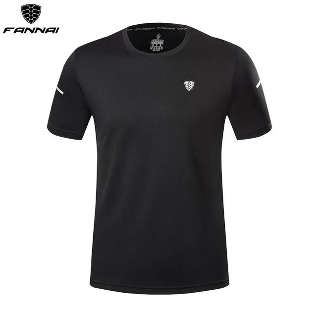 Men/'s Summer Short Sleeve T-shirt Sports Gym Quick drying Breathable Outdoor New