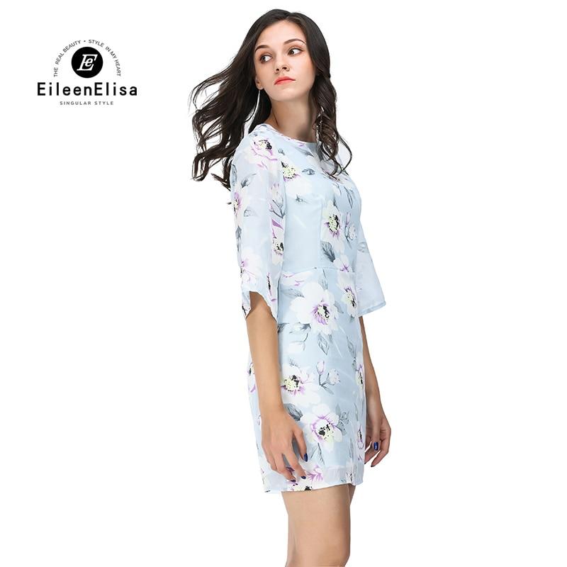 De Créateurs Manches As Floral Robe Imprimé Pics Elisa Mini Femmes Moitié Robes Eileen Mode Haute 2017 qAUE8t