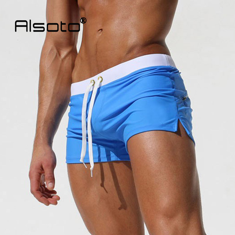 2019 New, Swimwear Men Sexy, Swim  Beach, used as shorts, Suitable for swimming pool, sea, 3