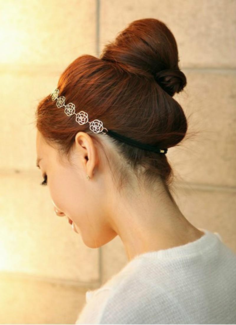 rose flower hair jewelry6