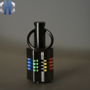 Titanium Alloy Knife Beads Det
