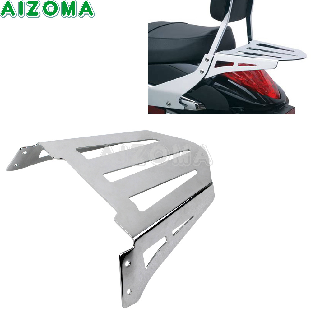 Motorcycle Rear Luggage Rack Chrome Sissy Bars Cargo Baggage Holder Rack For 2006-2014 Suzuki Boulevard M109R M109RZ M109R2 free shipping brand new rear solo seat cover for suzuki boulevard vzr 1800 2005 2006 m109r 2006 2012 red