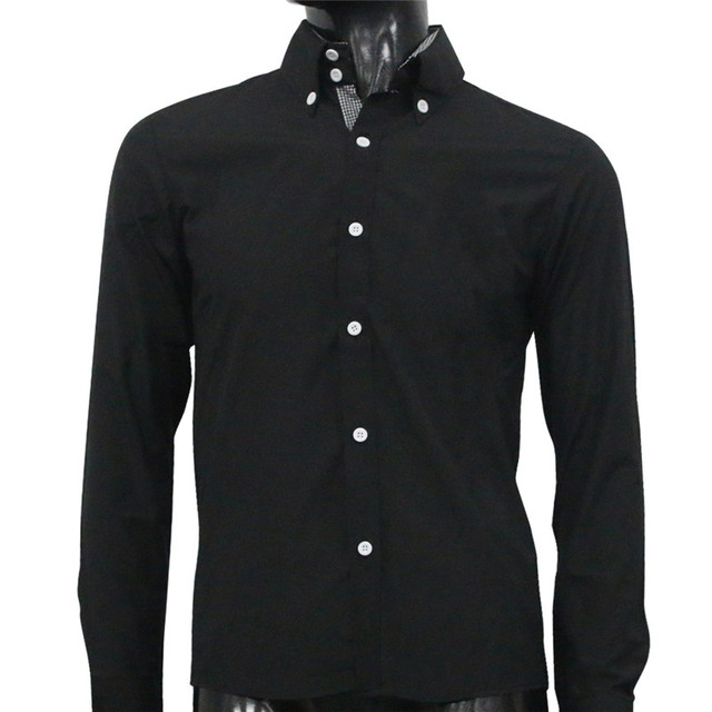 Stylish Slim Fit Long Sleeve Dress Shirt Casual