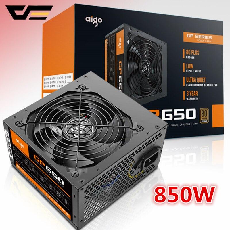 Aigo GP650 Active Power 80PLUS BRONZE Desktop Power Supply E-sports 850W Maximum Power 800W.computer Power Supply