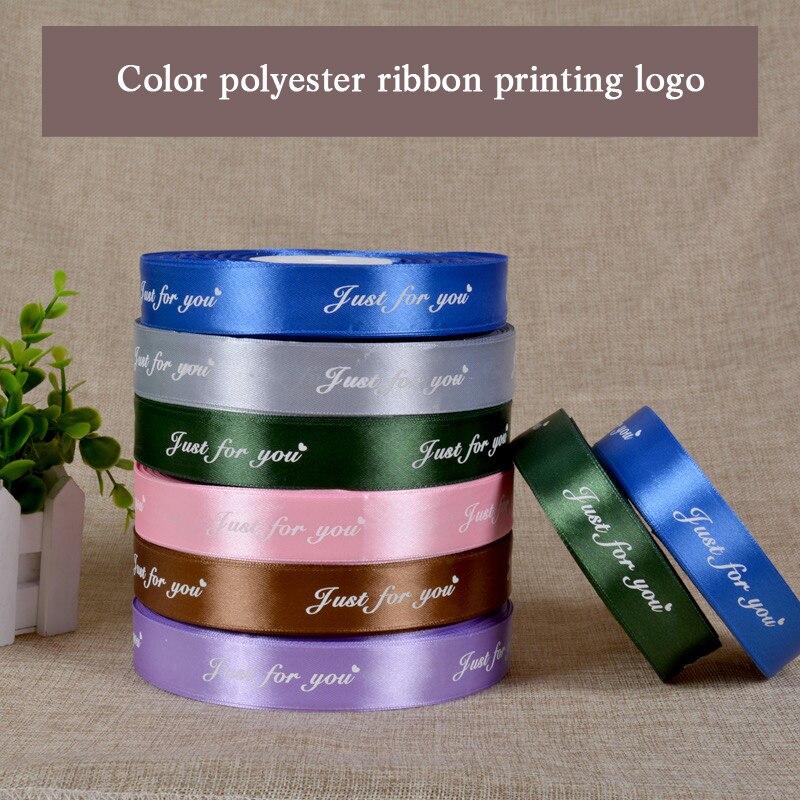 Livraison gratuite ruban de satin de soie personnalisé impression/étiquette de collier de vêtement/ruban de paquet de cheveux/étiquettes imprimées/nom de marque