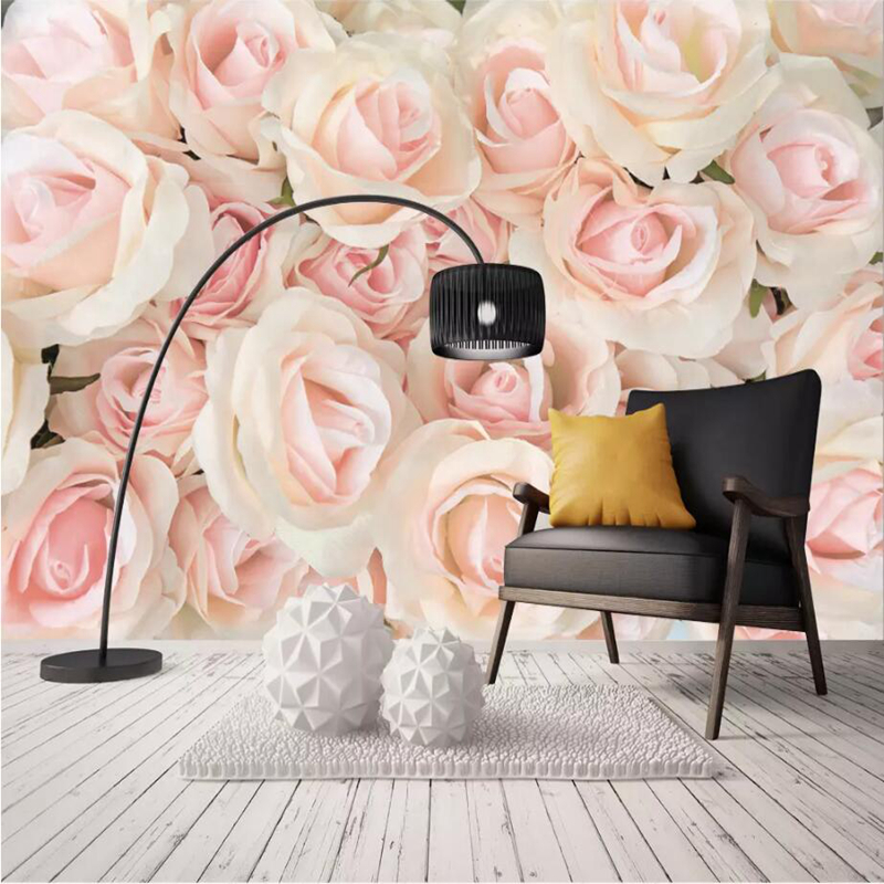 Wall Pictures 3 d Flower Wallpaper Europe Style Embosssed House Wallpaper Large Rose Wall Mural for living Room Decor Home Decor заслуженный коллектив россии академический симфонический оркестр филармонии л кремер