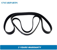2x Serpentine Fan Belt Fit for Nissan Pathfinder 2.5L R51 YD25DDTI 128KW 05 10