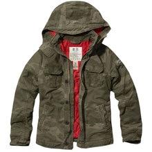 Men's Coat Bomber Jacket Military Camouflage Men Solid Causal Slim Cotton Parkas Winter Thicken Wear Brand Uniform Coat Men
