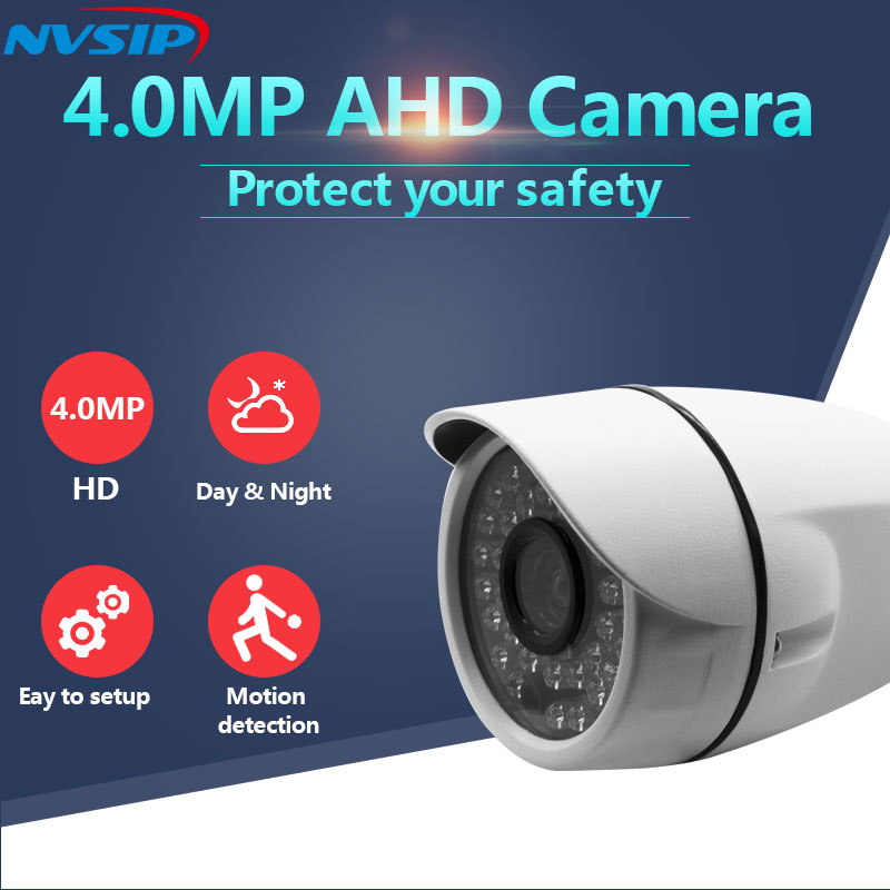 Security & Protection Surveillance Cameras Fast Deliver Metal 4mp 3.6/6mm Lens 24pcs Leds 20m Ir Distance 4mp Ahd Camera Ahd Outdoor Bullet Camera Ir Cut Filter Ahd 4mp Outdoor Camera Cleaning The Oral Cavity.
